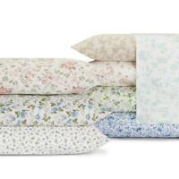 spring bloom blue 4-piece queen sheet set | wildflower laura ashley home