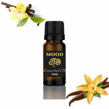 Essential Oils 10ml Pure & Natural Aromatherapy - Choose Fragrance Vanilla