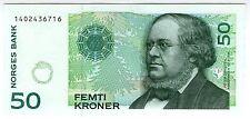 **  NORVEGE     50  kroner   1999   p-46b    UNC   **