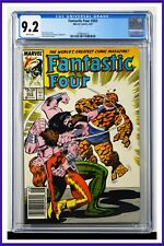 Fantastic Four #303 CGC Graded 9.2 Marvel 1987 Newsstand Edition Comic Book.