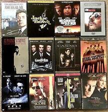 12 DVD LOT | Deluxe Edition | Crime Drama Classics • Tarantino Pacino DeNiro