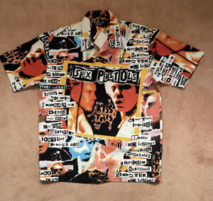 Sex Pistols Shirt Size M By Dragonfly