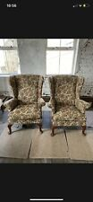 parker knoll wing back chair Reupholstery Service