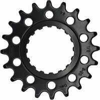 "KMC Bike Chainring Ebike Sprocket For Gen 2 Bosch Systems 1/2""x1/8"" 18T Black"