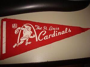 Vintage St. Louis Cardinals late 1960's mini pennant NFL pre-merger