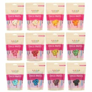 FunCakes Candy Melts  Deco Melts Cake Pop Chocolate Buttons 250g All Colours