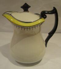 Carlton Ware Art Deco Hot Water jug