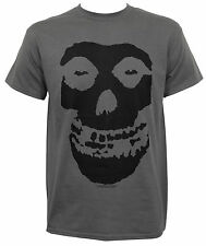 MISFITS - Fiend Skull Logo Gray T-shirt - Size Extra Large XL - NEW - Danzig *