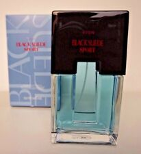 Avon Black Suede Sport Cologne Spray for Men Full Size 3.4 Fl Oz  *fast shipping