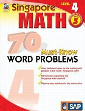 70 Must-Know Word Problems, Grade 5 (Singapore Math) by