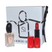 Giorgio Armani Si Edp 7ml and Rouge Ecstasy Lip Stick 1.5ml Gift Set