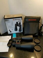 Needs collimation! Celestron SkyMaster Giant 15x70 Binoculars w/ Tripod Adapter