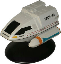 Type-6 Goddard Shuttle Enterprise 1701-D -english Metall Modell Star Trek Eaglem