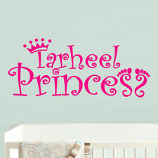 Wall Decal Princess Name Crown Nursery Inscription Letter Cartoon Story M613