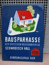 SCHWÄBISCH HALL DER DEUTSCHEN VOLKSBANKE AG  1 A ERHALTUNG !!!!!!