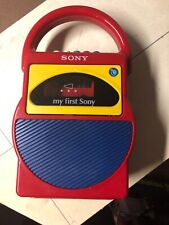 Sony My First Sony Cassette Tape Recorder Cassette-Corder Model No. TCM-4000