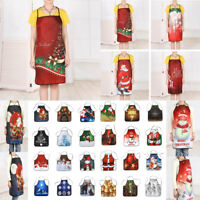 2019 Christmas Decoration Waterproof Apron Christmas Dinner Party Home Apron