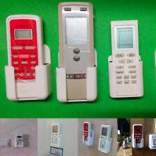 TV Air Conditioner Remote Control Wall Mount Holder Case Storage Box Organizer