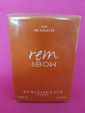 Rem & bow réminiscence eau de toilette 50 ml neuf sous blister parfum rare