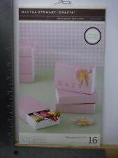 New listing Martha Stewart Crafts Pink Sixteen Match Box Favors Kit New A18410