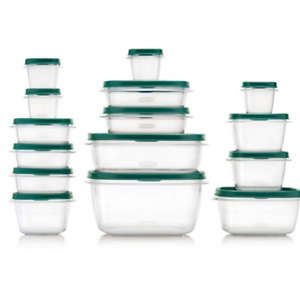 Rubbermaid 30pc Food Storage Container Set with Easy Find Lids