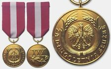 2737 POLAND POLISH IIIRP after 2007 MEDAL FOR LONG SERVICE 1st-class - original