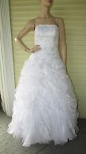 Wedding Strapless Dress Bride Frankenstien Zombie Prom Queen Fairy Costume 8