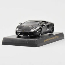 1/64 Lamborghini Aventador LP 700-4 Minicar Ⅳ Diecast Car Black Kyosho Toys