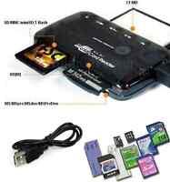 ✅26-IN-1 USB 2.0 Kartenlesegerät Speicherkarten Card Reader für CF/SD/xD/MS/SDHC