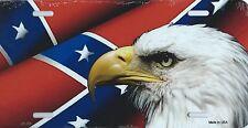 PLAQUE DE VOITURE AMERICAINE-AMERICAN EAGLE / SUD. -NEUVE - DECO USA/ BIKER