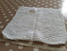 Handmade Knitted Small Square 25cm approx.