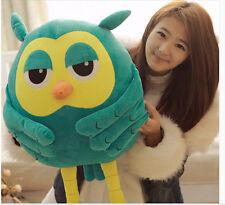45cm Owl Hand Warm Plush Cushion Soft Plush Toy Hold Pillow Stuffed Animals Gift