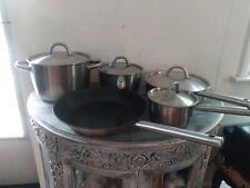 IKEA 365+ Stainless Steel 9 Piece Cookware Set