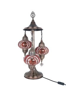 Turkish mosaic bedside table lamp 19 COLORS VARIOTIONS.