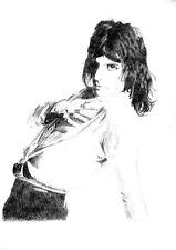 FREDDIE MERCURY 04 (QUEEN) GLOSSY ART PRINT