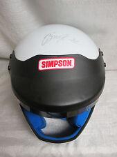 Brad Keselowski Signed Autographed Simpson NASCAR Racing Helmet Miller Lite JSA