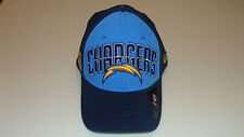 New Era Hat Cap NFL Football San Diego Chargers M/L 39thirty 2013 Draft Flex Fit