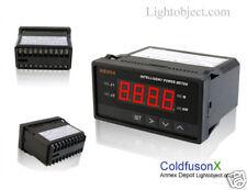 Digital DC Boat Golf Solar Power Watt Volt Amp Meter