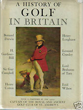 HISTORY OF GOLF IN BRITAIN BOOK DARWIN CAMPBELL 1952