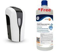 Alcohol Touchless dispensador de jabón líquido dispensador automático 1000ml Reino Unido!