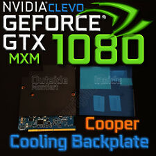 Cooper Cooling Backplate ✔ ⟴ nVidia GTX 1080✔ 1070✔ 1060✔ CLEVO MXM✔ ⟴ RTX 2080