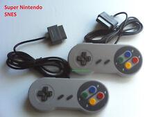 2 New Super Nintendo SNES System Console Controller 16-Bit 6FT Retro Control Pad