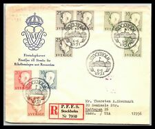 Gp Goldpath: Sweden Cover 1951 First Day Cover _Cv255_P15