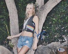 Jessy Schram Signed 8x10 Photo *Model *Actress *Once Upon A Time *Nashville BAS