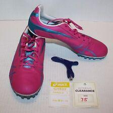 Asics Pink Blue Women's Running Cleats Hyper-Rocket Girl SP4 Shoes G153Y Sz 7.5