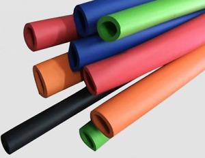 Fitness Equipment Handle Insulation Sponge Pipe Foam Rubber Tube Lagging Wrap 1M