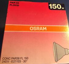OSRAM Conc PAR38 FL 150 150w focos, lámpara E27 240V 30º inundación NUEVO