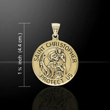 Saint Christopher .925 Sterling Silver Pendant by Peter Stone