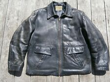 Leather Vintage Outerwear Coats & Jackets for Men for sale