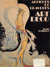 AFFICHES ET GRAVURES ART DECO JEAN DELHAYE  FLAMMARION  FRANCESE (PA702)